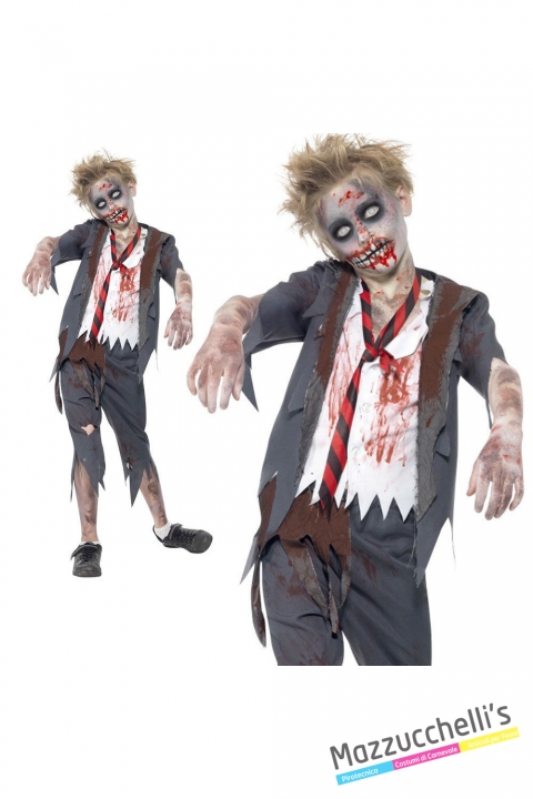 costume hight school zombie bambino carnevale halloween o altre feste a tema - Mazzucchellis
