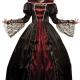 costume regina vampira donna carnevale halloween o altre feste a tema - Mazzucchellis