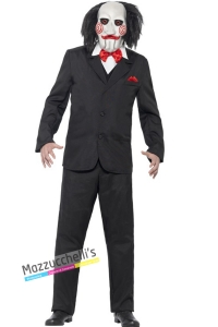costume saw film L'enigmista carnevale halloween o altre feste a tema - Mazzucchellis