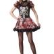 costume scheletro Messicano Day of the Dead - il Giorno dei morti donna carnevale halloween o altre feste a tema - Mazzucchellis