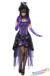costume sexy contessa gotica horror halloween , carnevale o altre feste a tema - Mazzucchellis