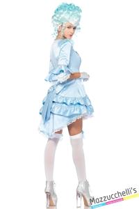 costume sexy dama azzurra carnevale halloween o altre feste a tema - Mazzucchellis