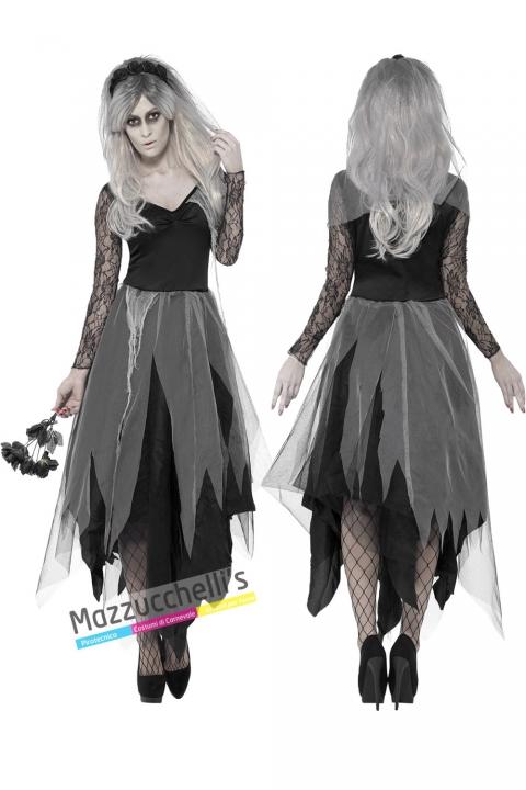 costume sposa cadavere halloween , carnevale o altre feste a tema - Mazzucchellis