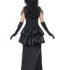 costume strega burlesque gotica horror halloween , carnevale o altre feste a tema - Mazzucchellis