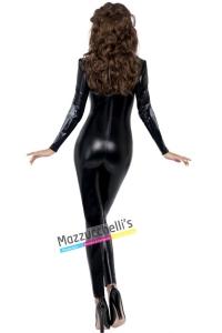 costume tuta aderente di scheletro scheletro halloween , carnevale o altre feste a tema - Mazzucchellis