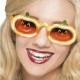 occhiali zucca luminosi halloween carnevale divertenti - Mazzucchellis