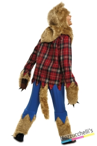 costume lupo bambino carnevale halloween o altre feste a tema - Mazzucchellis