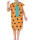 COSTUME UOMO FILM CARTONE PRESTORIA Fred dei Flintstone CARNEVALE HALLOWEEN O ALTRE FESTE A TEMA - Mazzucchellis