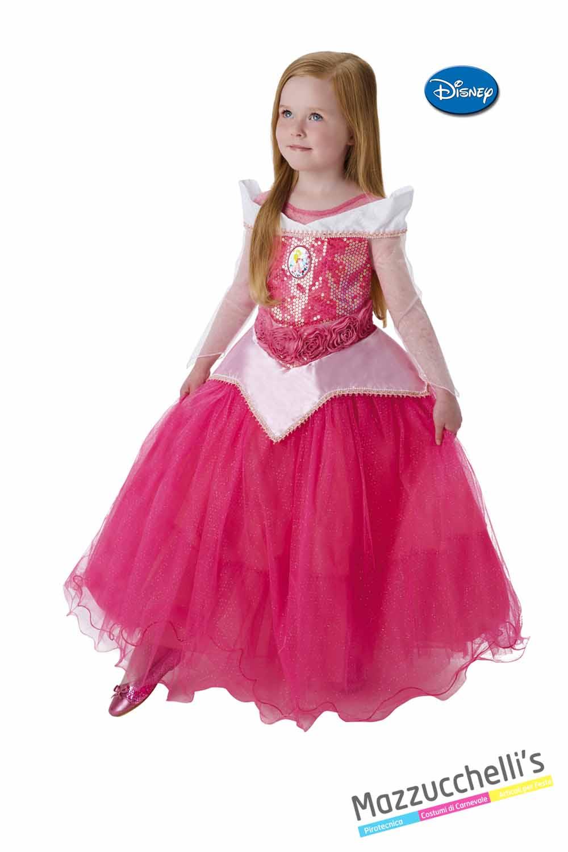 qualità stabile vendita calda autentica negozio del Regno Unito Costume Principessa Aurora