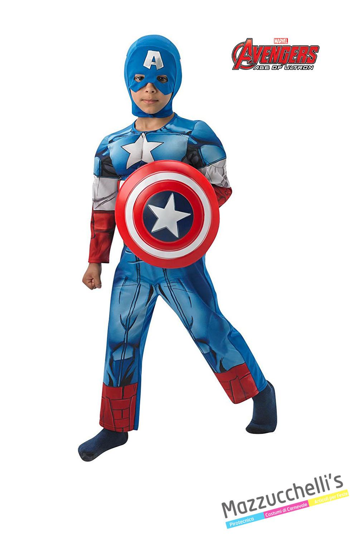 grandi affari 2017 ultima selezione del 2019 nuova versione Costume Capitan America