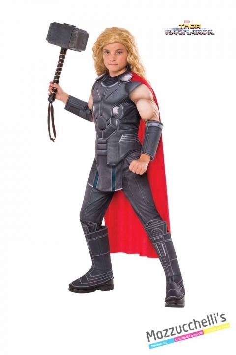 COSTUME bambino muscoloso thor film supereroe ragnarok ufficiale avengers marvel CARNEVALE HALLOWEEN O ALTRE FESTE A TEMA - Mazzucchellis