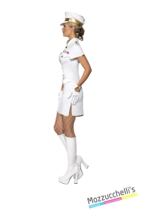 COSTUME donna sexy capitano di marina mestieri lavori CARNEVALE HALLOWEEN O ALTRE FESTE A TEMA - Mazzucchellis