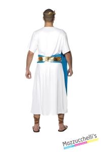 COSTUME uomo imperatore romano CARNEVALE HALLOWEEN O ALTRE FESTE A TEMA - Mazzucchellis