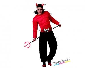 costume DIAVOLO DEMONE carnevale halloween o altre feste a tema - Mazzucchellis