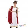 costume bambina imperatrice romana carnevale halloween o altre feste a tema - Mazzucchellis