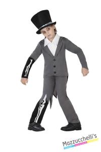 costume bambino sposo cadavere carnevale halloween o altre feste a tema - Mazzucchellis
