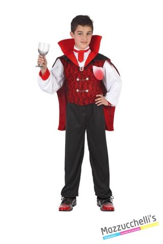 costume bambino vampiro horror fantasma carnevale halloween o altre feste a tema - Mazzucchellis