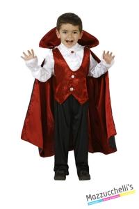 costume bambino vampiro zombie horror fantasma carnevale halloween o altre feste a tema - Mazzucchellis