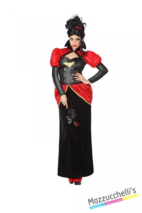 costume contessa vampira horror carnevale halloween o altre feste a tema - Mazzucchellis
