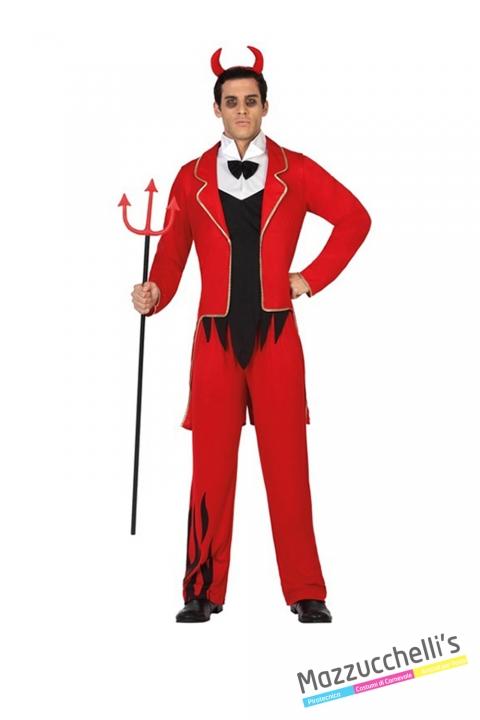 costume diavolo demone horror carnevale halloween o altre feste a tema - Mazzucchellis