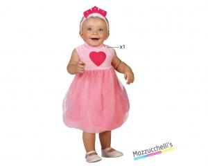 costume neonata principessa carnevale halloween o altre feste a tema - Mazzucchellis