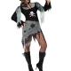 costume piratessa horror zombie carnevale halloween o altre feste a tema - Mazzucchellis