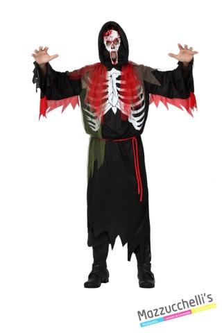 costume scheletro horror zombie carnevale halloween o altre feste a tema - Mazzucchellis