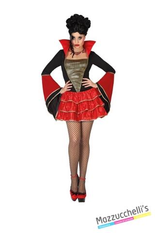 costume sexy vampira carnevale halloween o altre feste a tema - Mazzucchellis