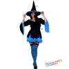 costume strega azzurra sexy donna carnevale halloween o altre feste a tema - Mazzucchellis