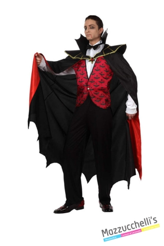 costume vampiro horror carnevale halloween o altre feste a tema - Mazzucchellis