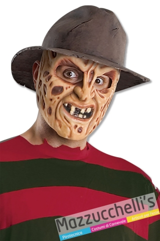 Cappello Freddy Krueger Nightmare da adulto