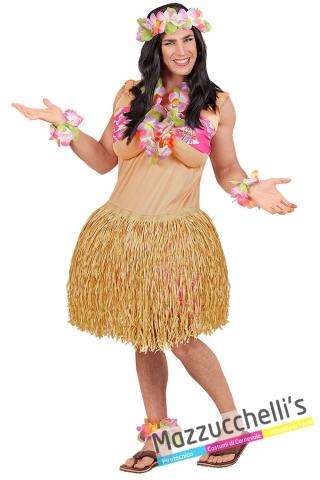 Costume hawaiana popoli del mondo addio celibato divertenti ironici - Mazzucchellis