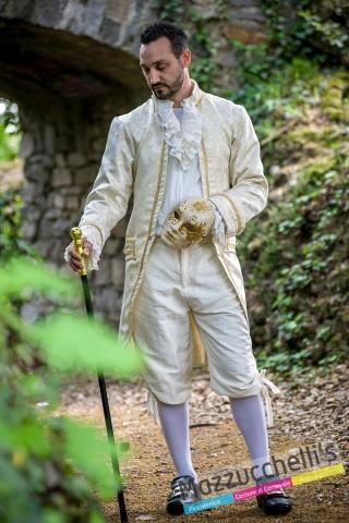 costume uomo nobile veneziano casanova '700 '700 sartoriale deluxe - Mazzucchellis