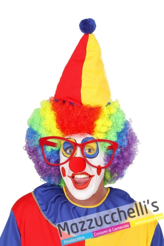 Occhiali Maxi da Clown