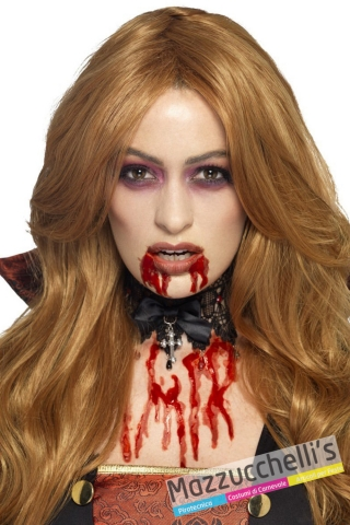 SANGUE gel ZOMBIE vampiri horror halloween - Mazzucchellis