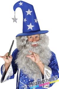 cappello mago azzurro carnevale halloween e altre feste a tema - Mazzucchellis