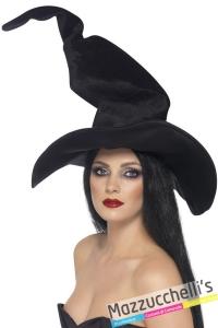 cappello strega nero halloween - Mazzucchellis