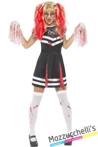 costume Cheerleader Zombie horror halloween carnevale - Mazzucchellis