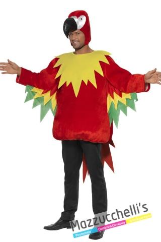 costume animale pappagallo colorato divertente - Mazzucchellis