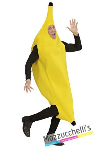 costume banana frutta divertente e ironico addio celibato - Mazzucchellis
