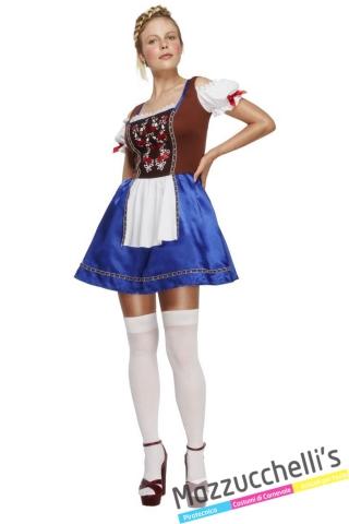costume bavarese oktoberfest tirolese carnevale - Mazzucchellis