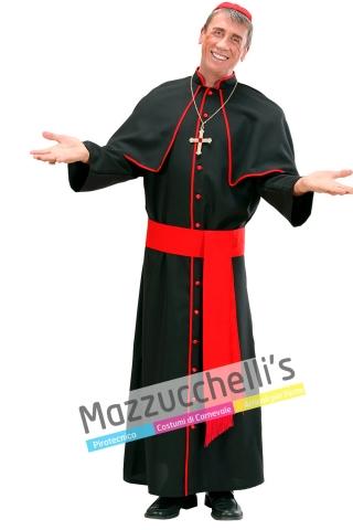 costume cardinale nero religioso - Mazzucchellis