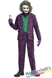 costume joker film batman bambino 11-13 anni carnevale halloween - Mazzucchellis