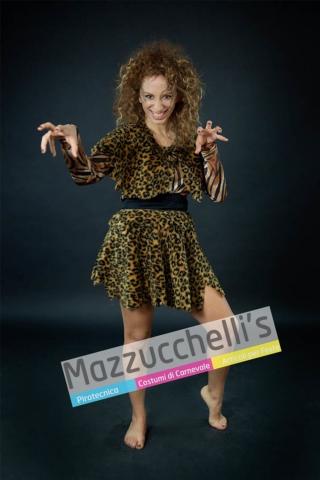 costume primitiva - tigre animale - Mazzucchellis