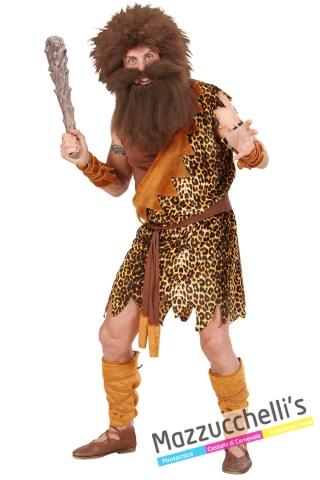 costume primitivo cavernicolo storico - Mazzucchellis