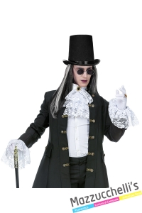 jabot con polsini da nobile vampiro halloween carnevale altre feste a tema - Mazzucchellis 3