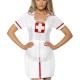 kit infermiera mestieri cerchietto grembiule giarrettiera - Mazzucchellis