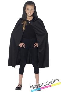 mantello nero vampiri bambini horror halloween - Mazzucchellis