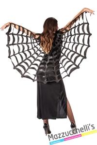mantello ragno halloween strega - Mazzucchellis