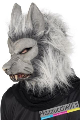 maschera animale lupo - Mazzucchellis
